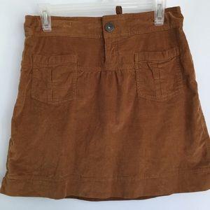 Athleta Corduroy Skirt